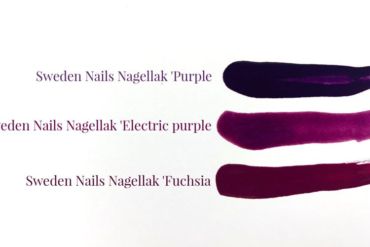 Sweden Nails Purple